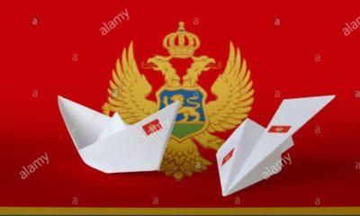 Montenegro origami